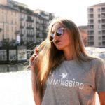 camiseta classic gris hummingbird clothing