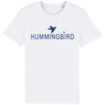 camiseta classic blanco - azul real