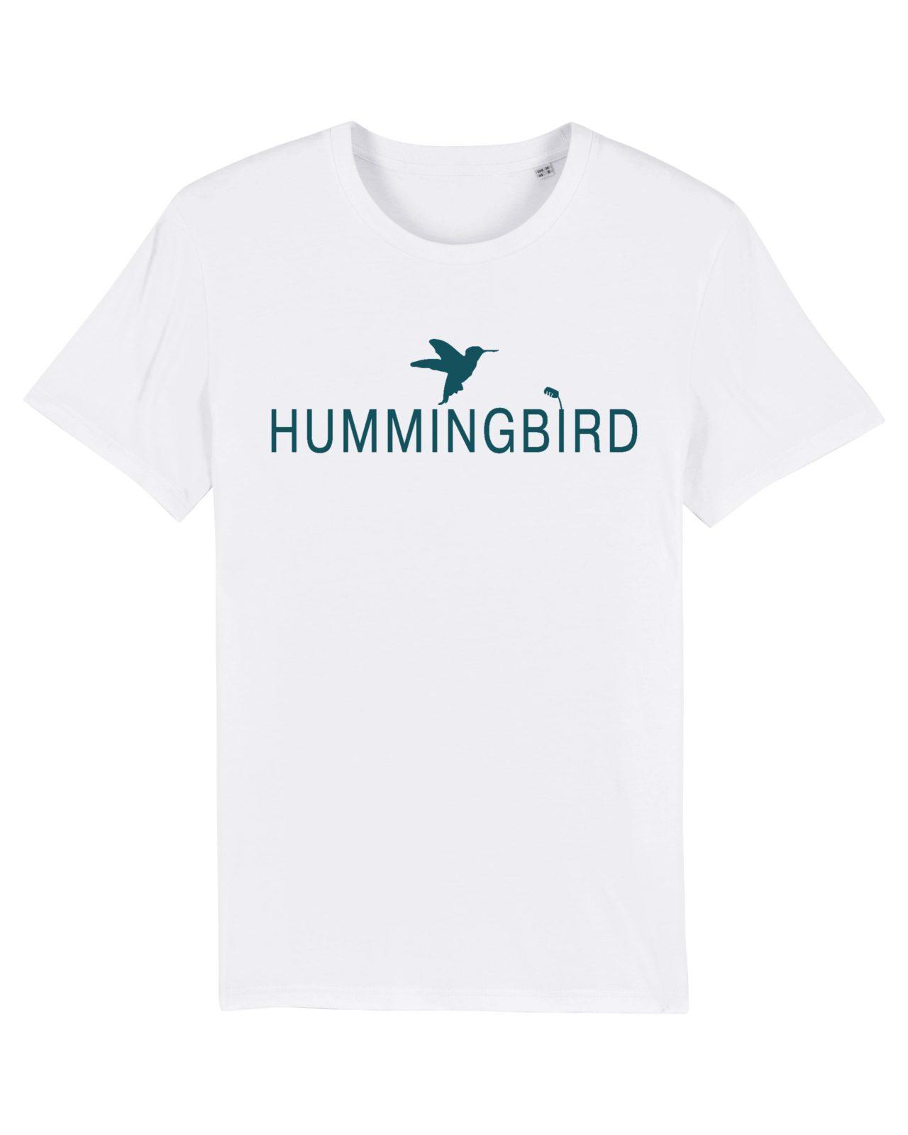 camiseta classic blanco - turquesa