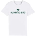 camiseta classic blanco - verde oscuro