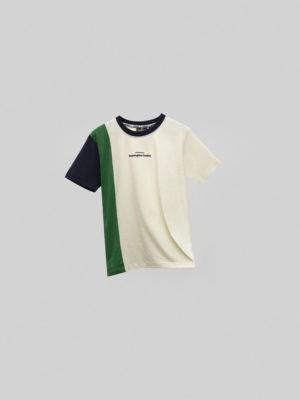 Retro Shades Hummingbird Clothing Blanco Verde y Azul